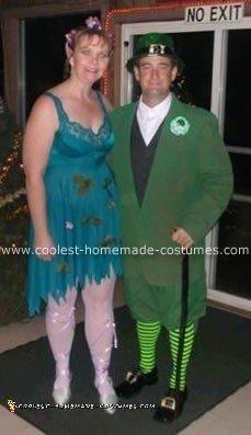 Irish Fairy and Leprechaun Costume