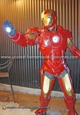 Coolest Iron Man Costume 17