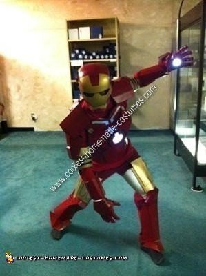 Homemade Ironman Halloween Costume Idea