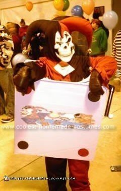 Jester in The  Box Costume