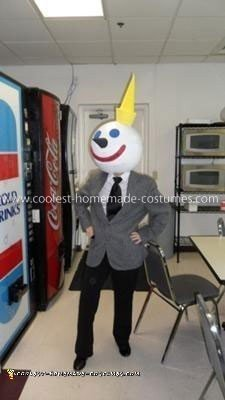 Homemade Jack in the Box Costume