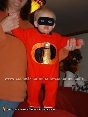 Jack as Jack Jack from the Incredibles