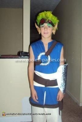 Homemade Jak Costume from Jak and Daxter