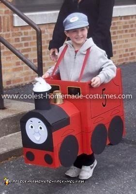 Coolest James the Red Engine Costume 59