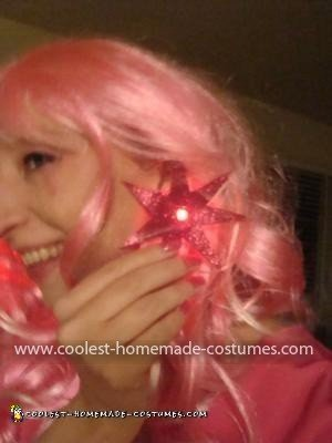 Coolest Jem Costume - My light up earrings