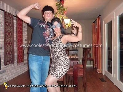 Coolest Jersey Shore Adult Couple Costume