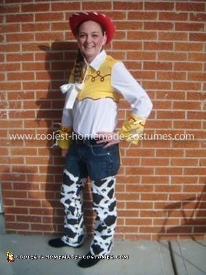 Homemade Jessie from Toy Story Costume