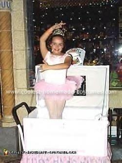 Homemade Jewelry Box Ballerina Costume