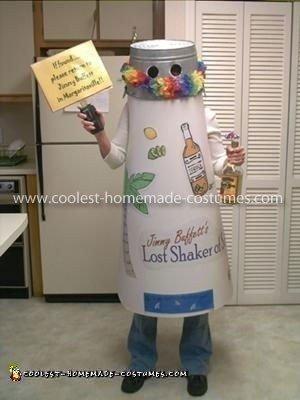 Homemade Jimmy Buffett's Lost Shaker of Salt Costume