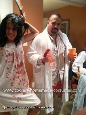 Homemade John and Lorena Bobbit Costume