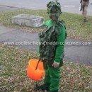 Homemade Jolly Green Giant Costume