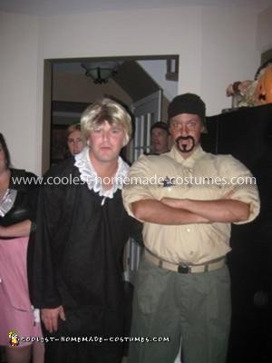 Homemade Judge Judy and Security Guard Couple Costume