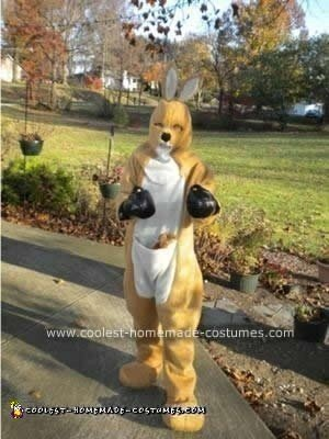 Homemade Kangaroo DIY Costume