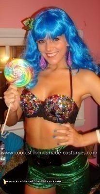 Homemade Katy Perry Costume