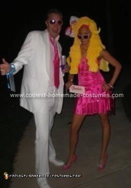 Homemade Ken and Barbie Costumes