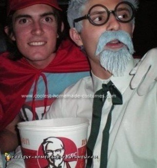 Homemade KFC Costume