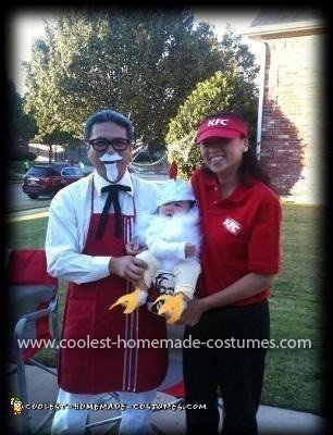 Coolest KFC Family Costume 14