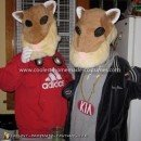 Homemade KIA Soul Hamsters Costume