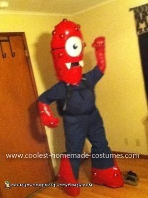 Homemade KIA Superbowl Commercial Muno Costume