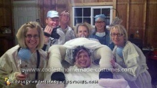 Coolest Labor and Delivery Group Costume