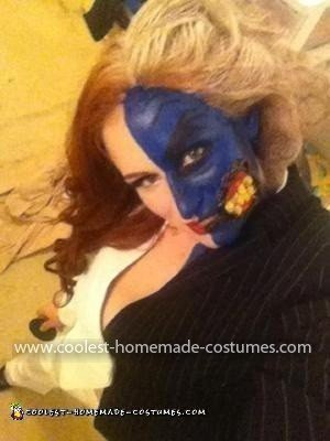 Homemade Lady Two Face Costume