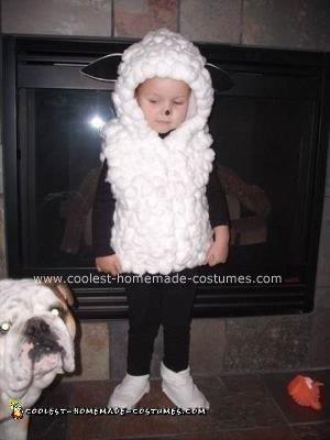 Homemade Lamb / Sheep Costume