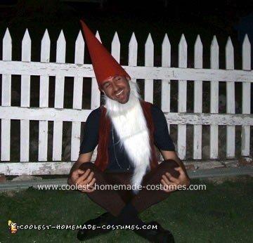 Homemade Lawn Gnome Costume