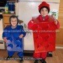 Homemade Lego Boys Halloween Costume