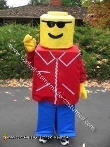 Lego Halloween Costume