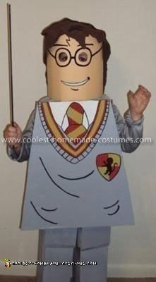 Homemade Lego Harry Potter Costume