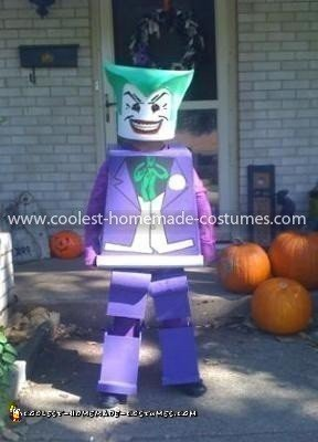 Coolest Lego Joker Costume