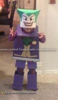 Coolest Lego Joker Costume