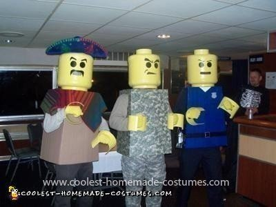 Homemade Lego Men Halloween Costumes