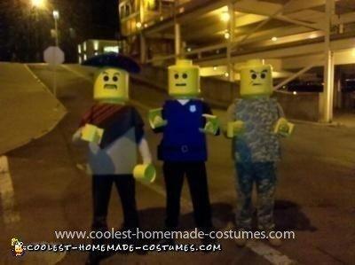 Homemade Lego Men Halloween Costumes