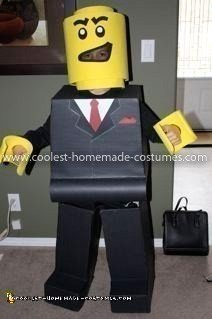 Coolest Lego Minifigure Costume 20