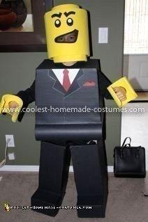 Coolest Lego Minifigure Costume 20