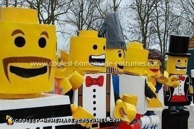 Homemade Lego Minifigures Costume