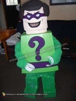Lego Penguin and Lego Riddler Couple DIY Costumes