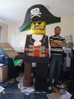 Coolest Lego Pirate Costume 4