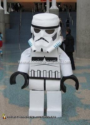 Homemade Lego Stormtrooper Costume