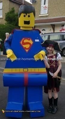 Coolest Lego Superman Costume