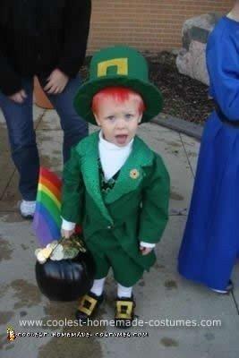 Homemade Leprechaun Costume