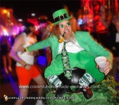 Coolest Leprechaun on a Pot of Gold Illusion Costume