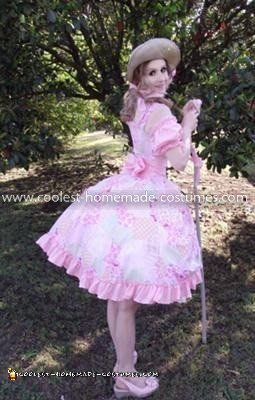 Coolest Lil Bo Peep Costume - Side back view