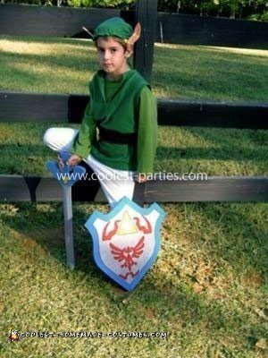 Homemade Link Costume