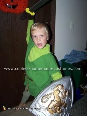 Chris as Link from Legend of Zelda