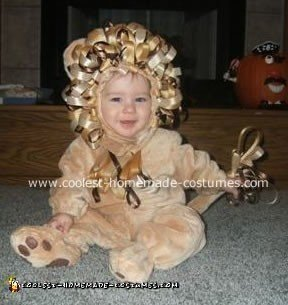 Luke the Baby Lion Costume