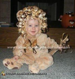 Luke the Baby Lion Costume