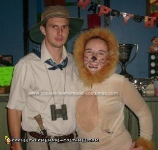 Lioness and Safari Hunter Costume