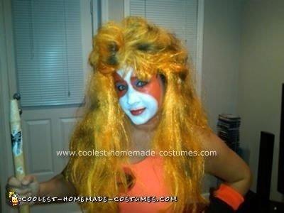 Homemade Lion-o and Cheetara from Thunder Cats Halloween Couple Costume